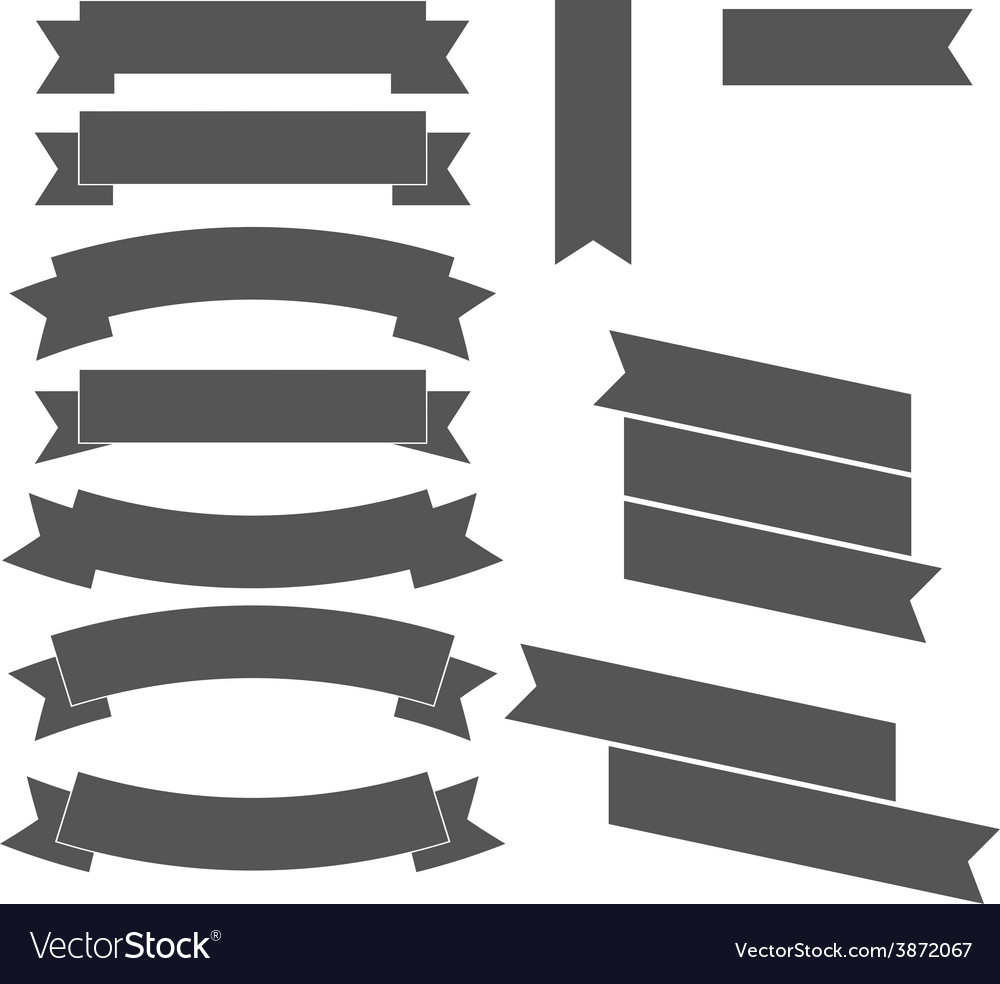 Ribbons design elements vector | Price: 1 Credit (USD $1)