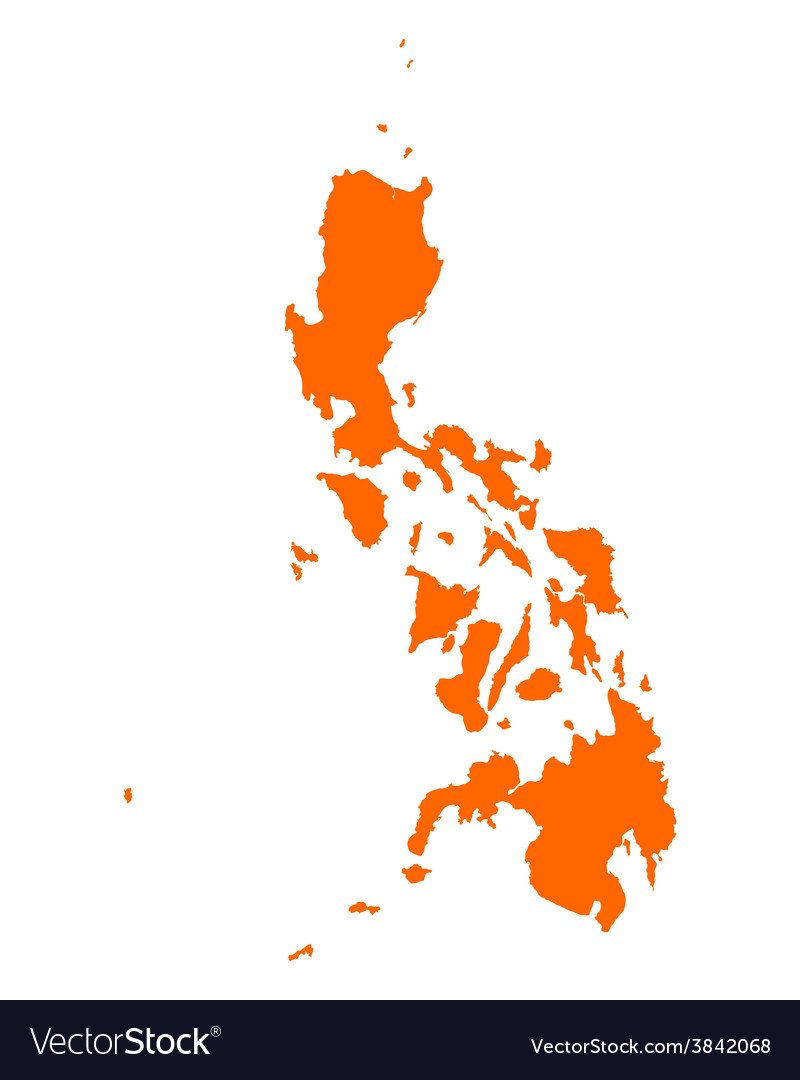 Map of philippines vector | Price: 1 Credit (USD $1)