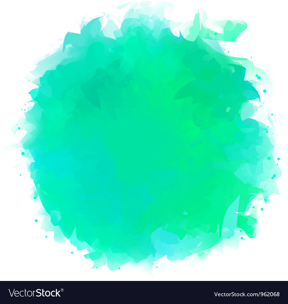 Watercolor splotch vector | Price: 1 Credit (USD $1)