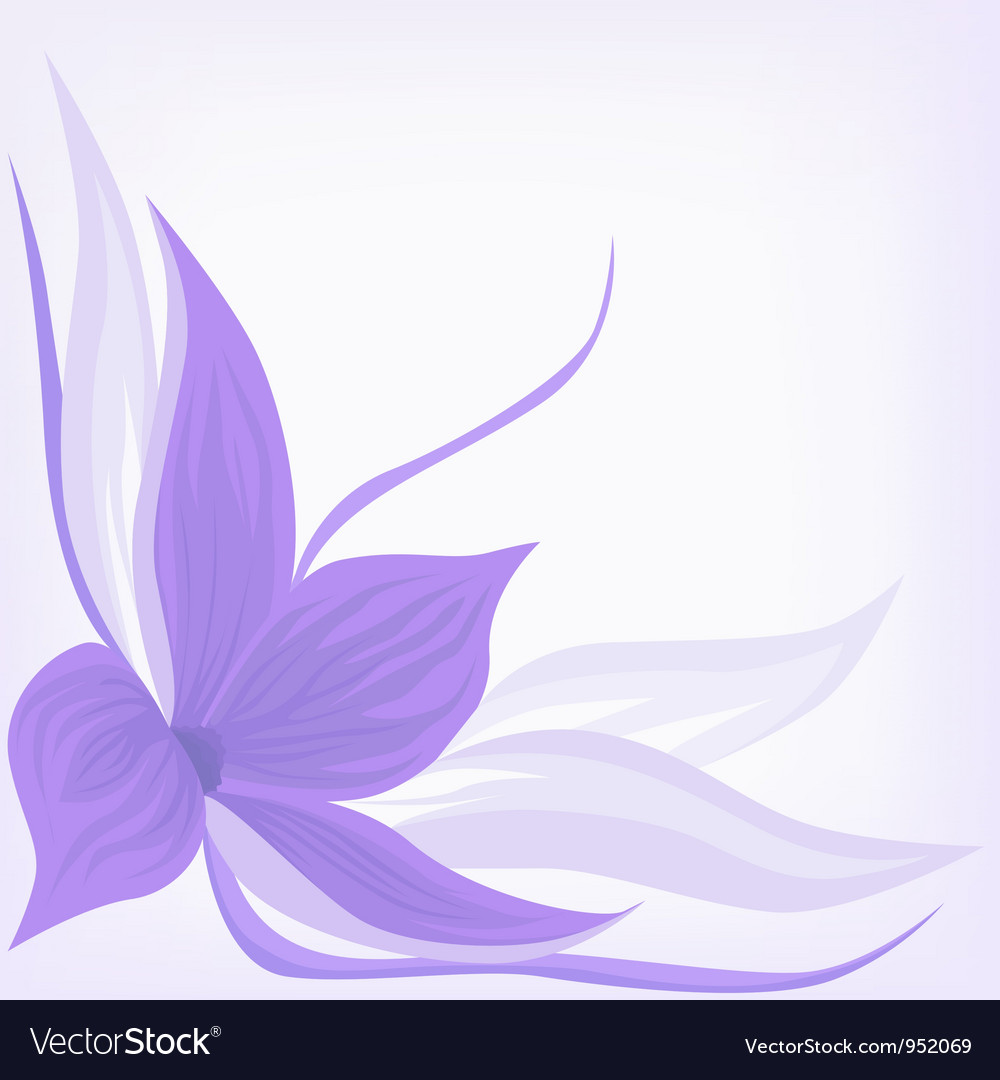Backdrop with lilac flower vector | Price: 1 Credit (USD $1)