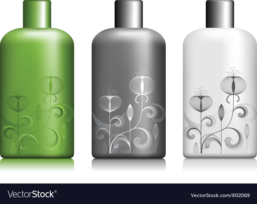 Bottle package vector | Price: 1 Credit (USD $1)