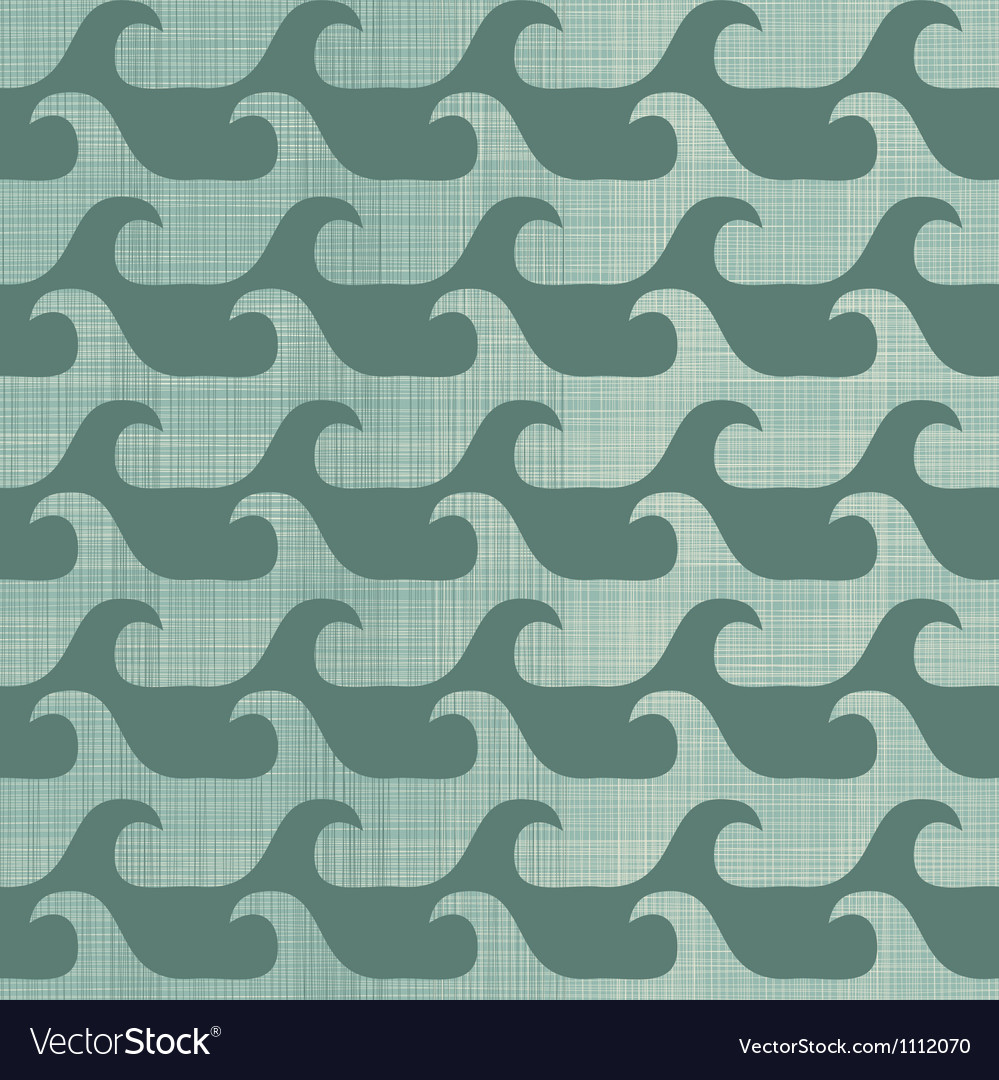 Repeating wave pattern background vector | Price: 1 Credit (USD $1)