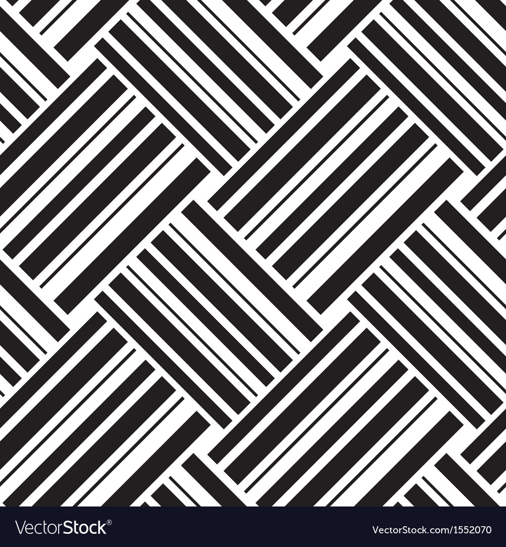 Seamless pattern with stripes vector