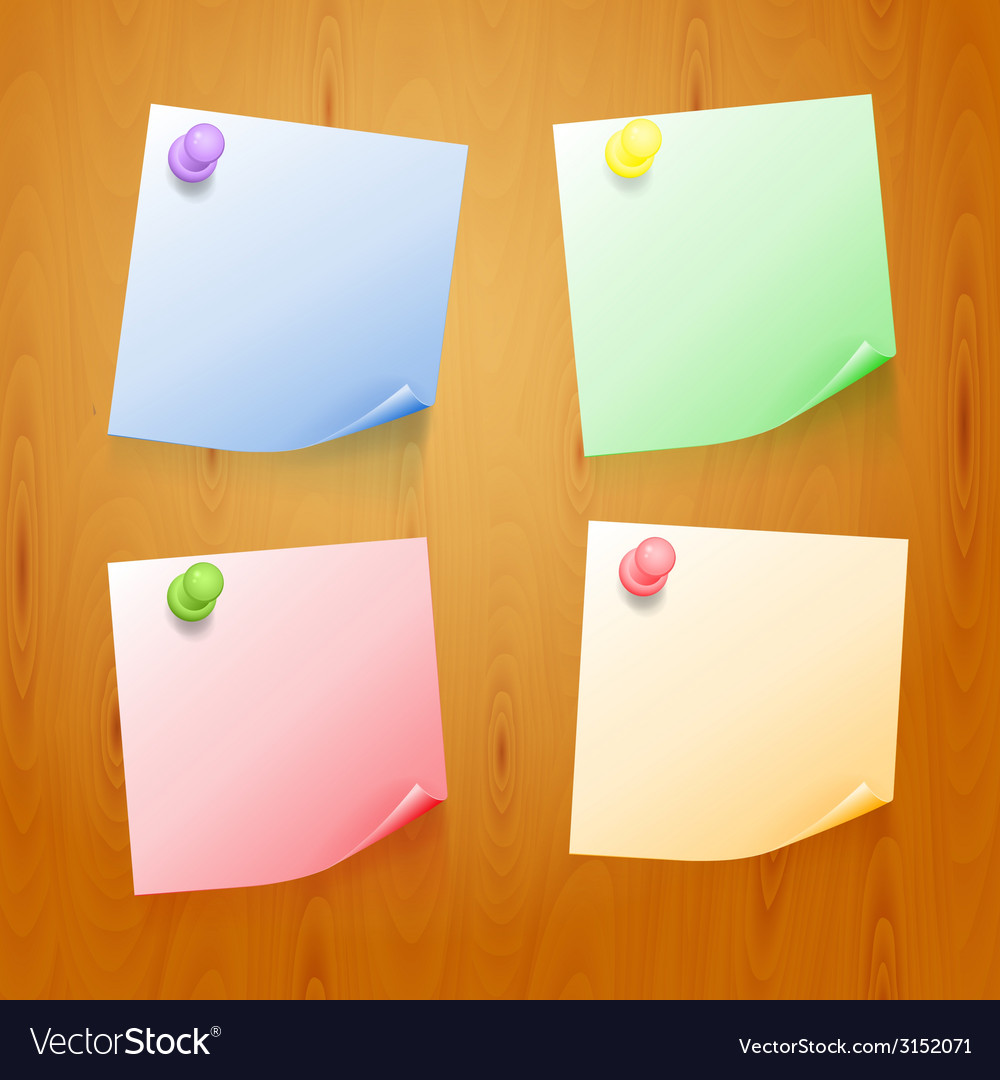 Set of color stickers vector | Price: 1 Credit (USD $1)