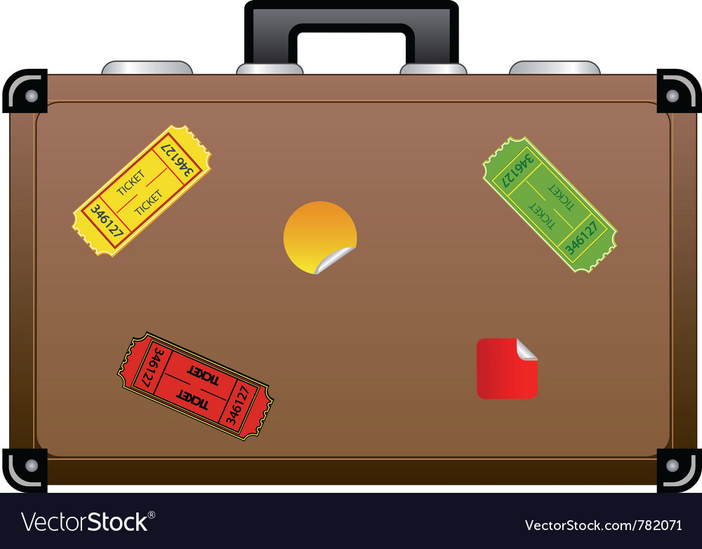 Travel suitcase icon vector | Price: 1 Credit (USD $1)