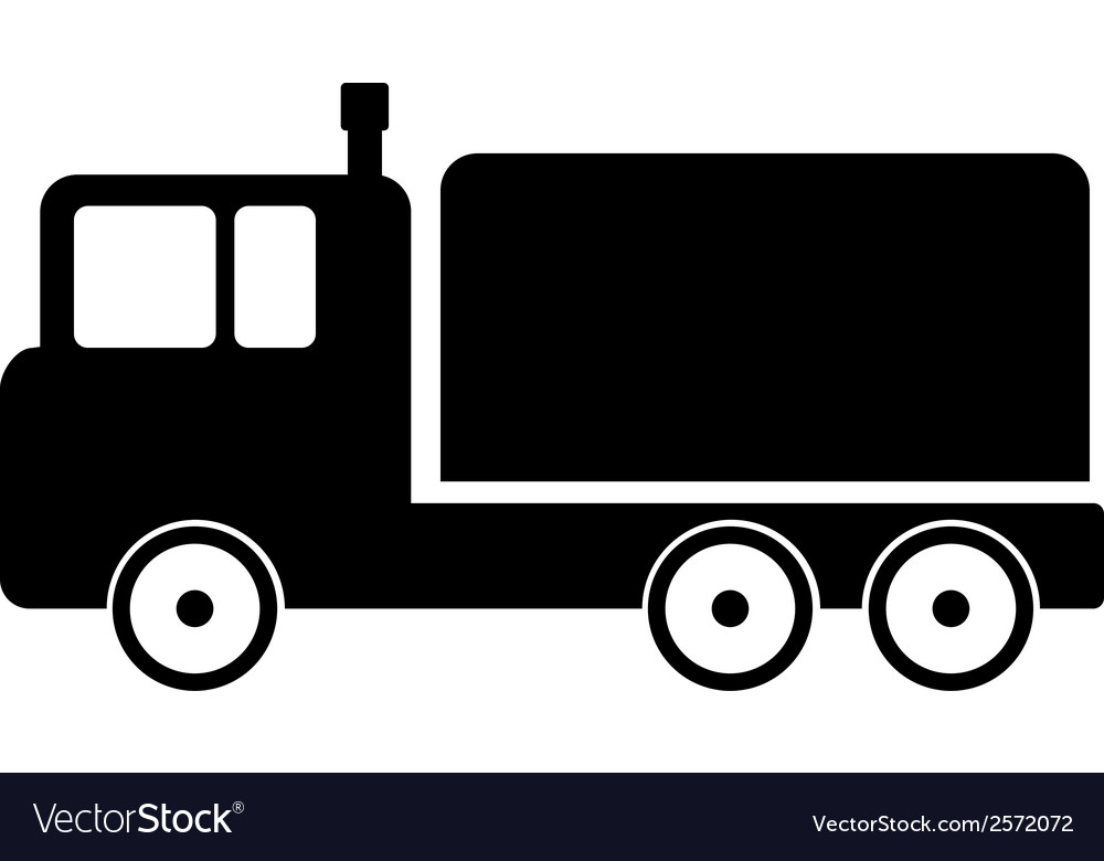 Cargo car icon vector | Price: 1 Credit (USD $1)