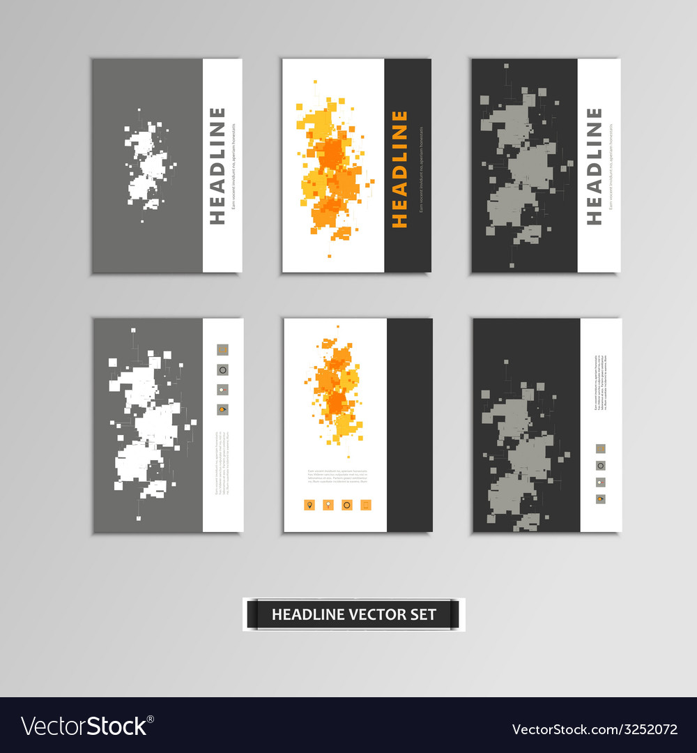 Cover book with colorful abstract spots vector | Price: 1 Credit (USD $1)