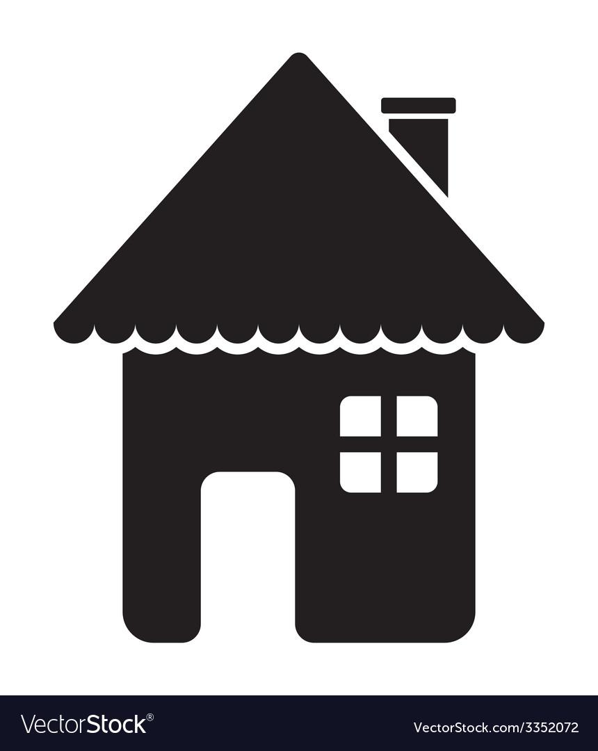 House icon1 vector | Price: 1 Credit (USD $1)