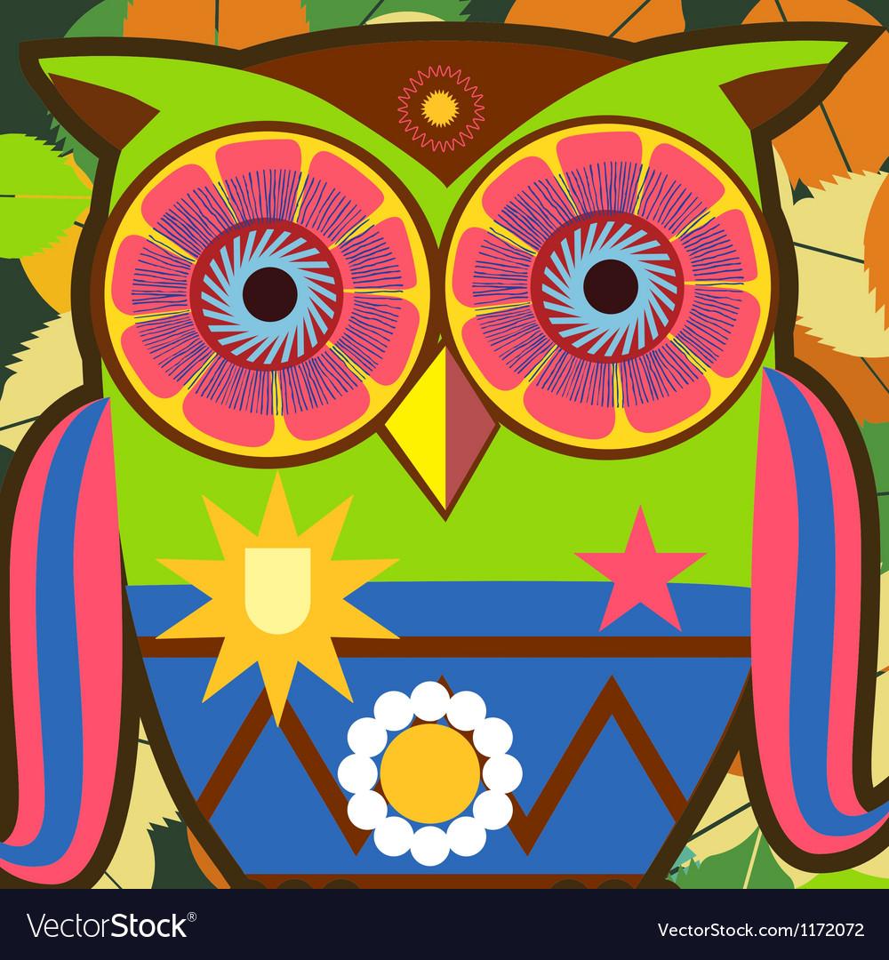 Owl general vector | Price: 1 Credit (USD $1)