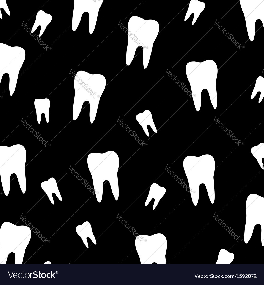 Tooth wallpaper vector | Price: 1 Credit (USD $1)