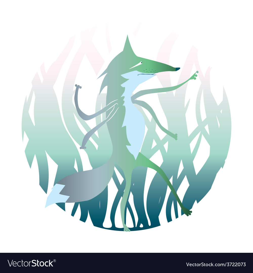 Cartoon werwolf vector | Price: 1 Credit (USD $1)