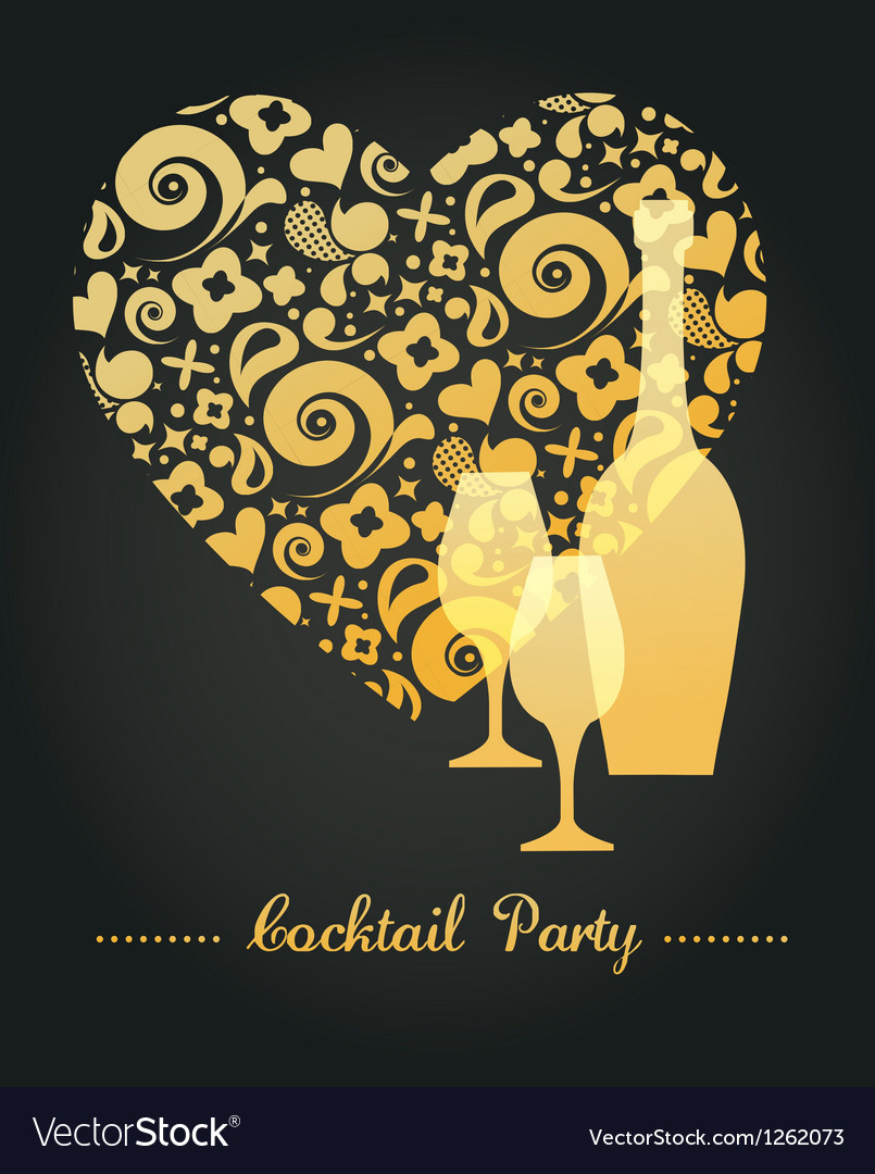 Party invitation vector | Price: 1 Credit (USD $1)