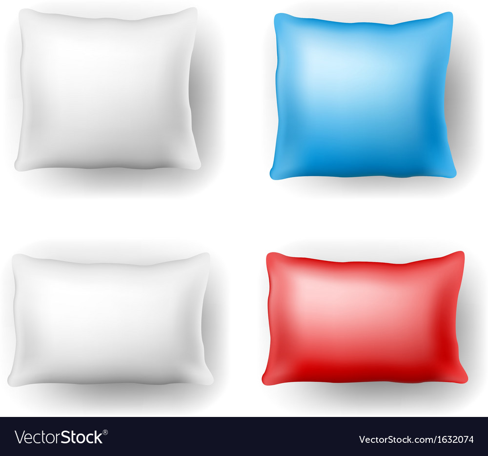 Pillow set vector | Price: 1 Credit (USD $1)