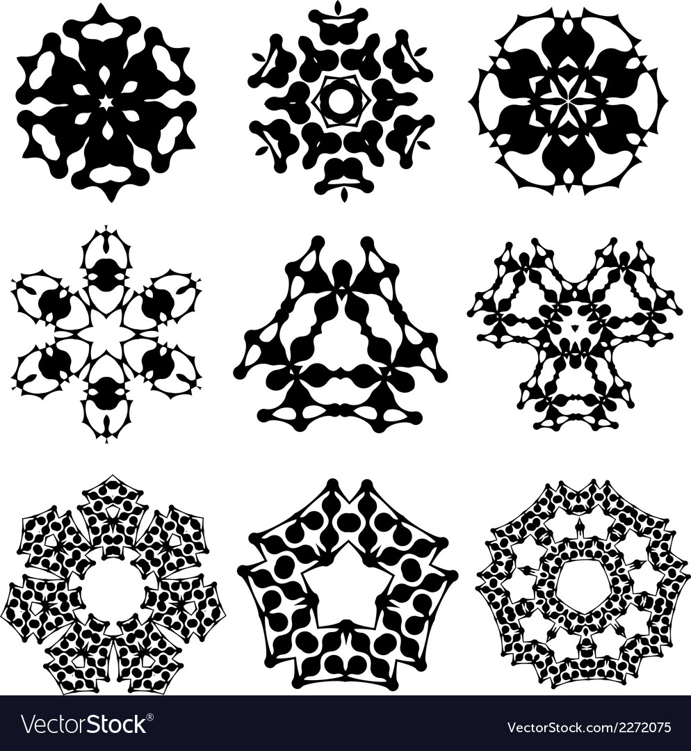 Calligraphic decorative elements and photomasks vector   Price: 1 Credit (USD $1)