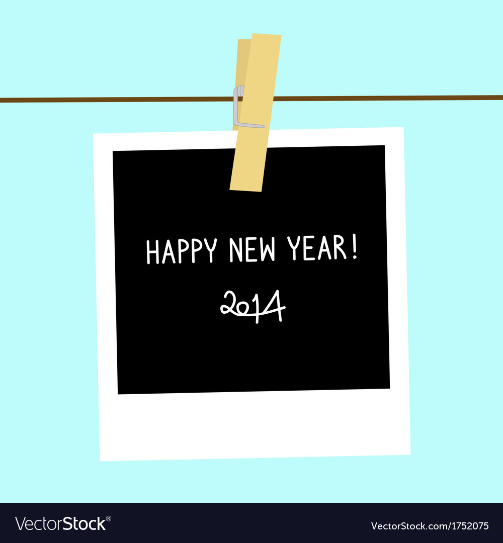 Card for new year2 vector | Price: 1 Credit (USD $1)