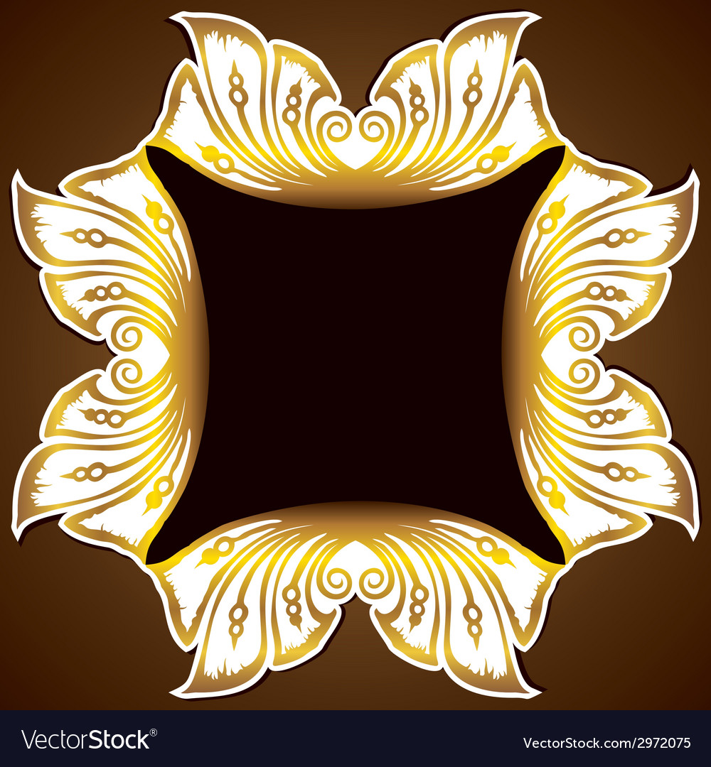 Golden design classic background vector | Price: 1 Credit (USD $1)