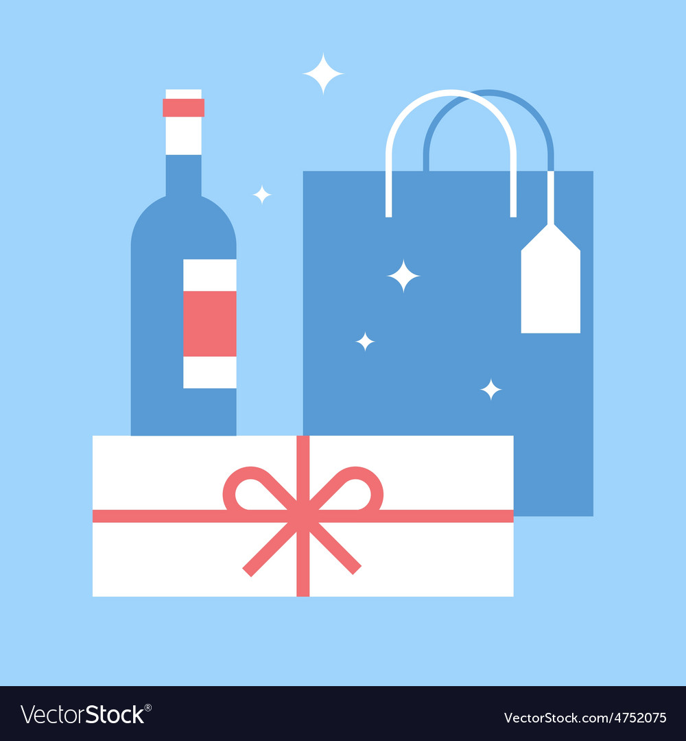 Holidays shopping vector | Price: 1 Credit (USD $1)