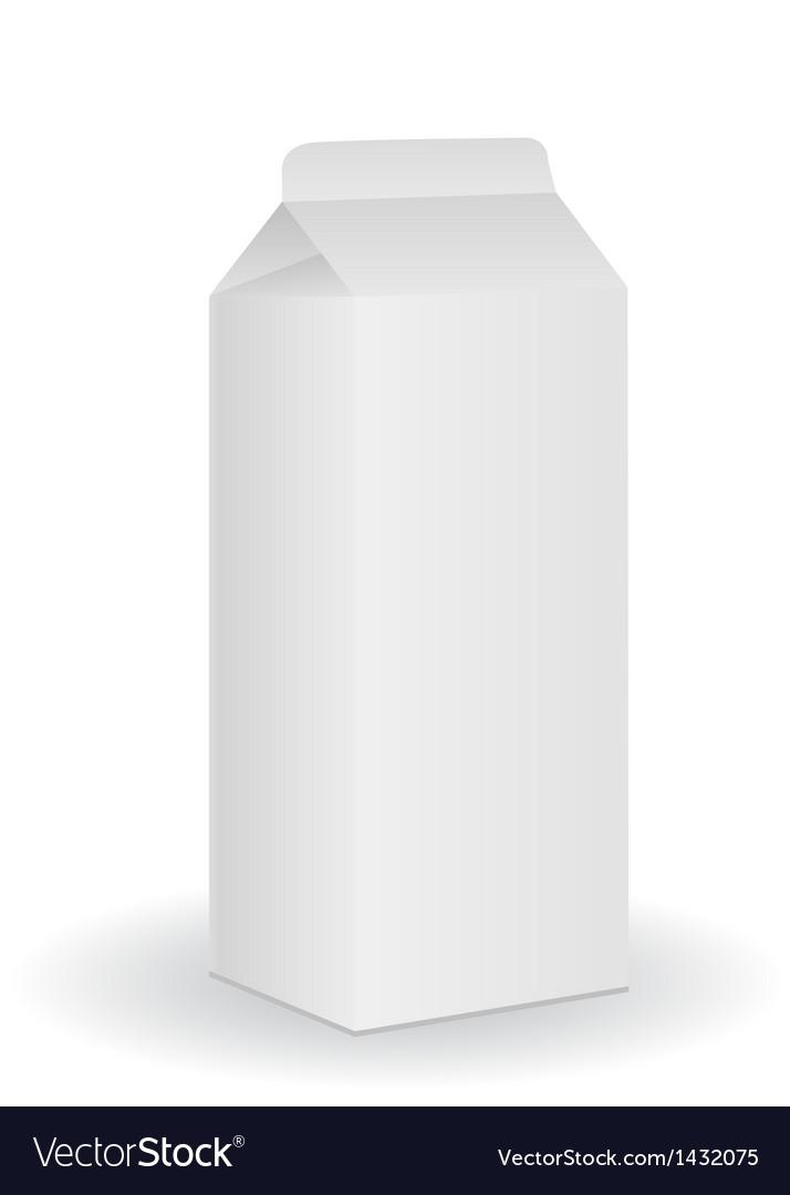 Milk box vector   Price: 1 Credit (USD $1)