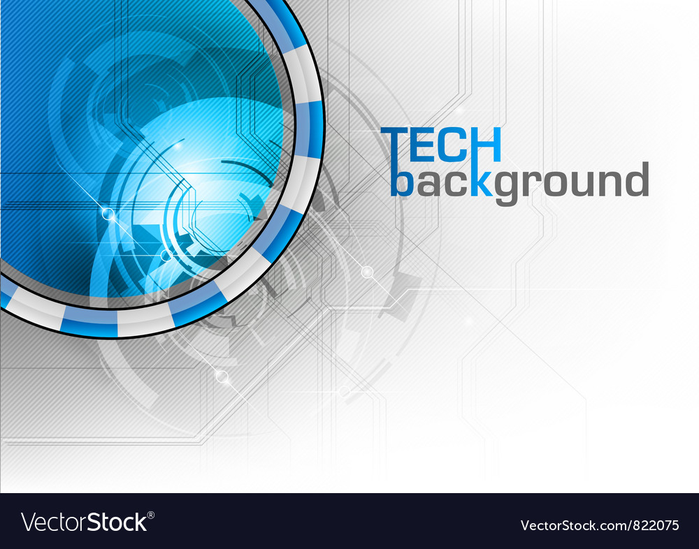 Tech background wave vector | Price: 1 Credit (USD $1)