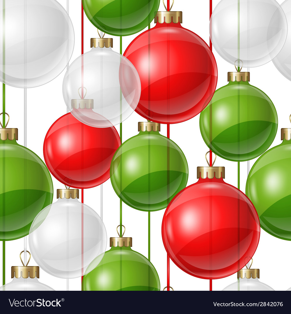 Holiday seamless pattern design with christmas vector | Price: 1 Credit (USD $1)