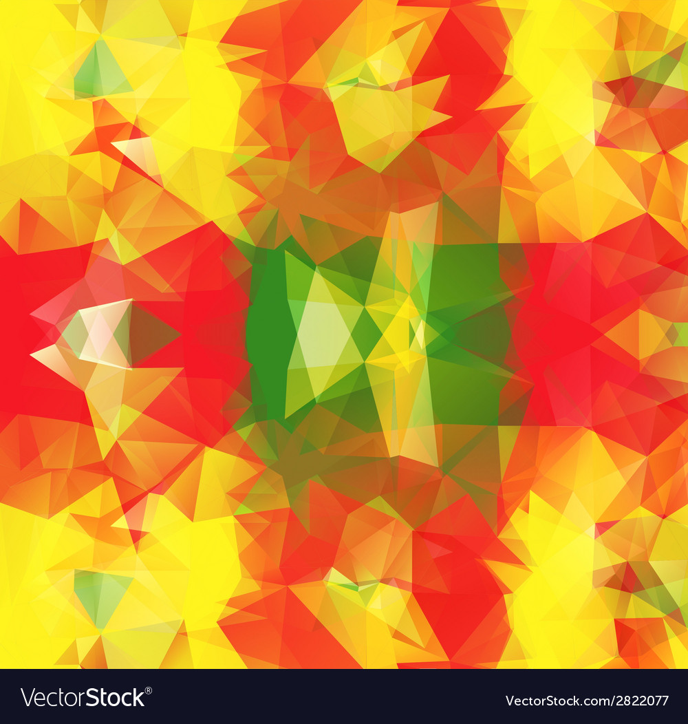 Triangle background pattern of geometric shapes vector | Price: 1 Credit (USD $1)