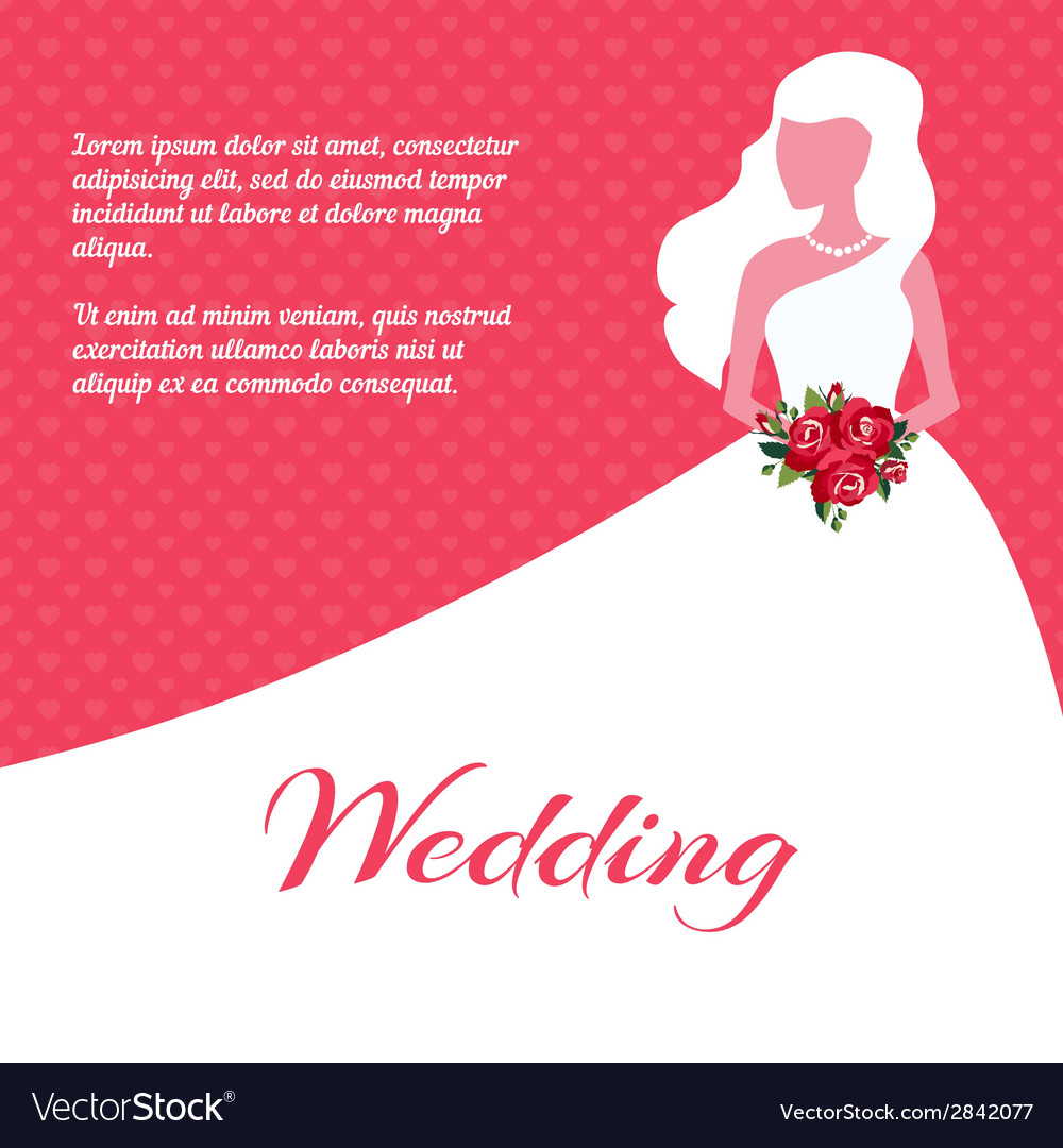 Wedding invitation or card template vector   Price: 1 Credit (USD $1)