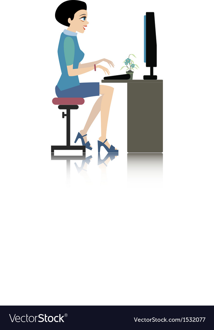 Working women vector | Price: 3 Credit (USD $3)
