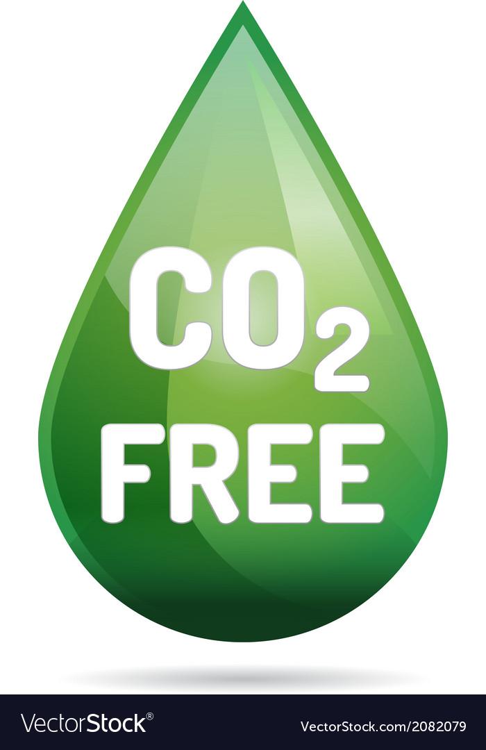 Eco co2 free vector | Price: 1 Credit (USD $1)