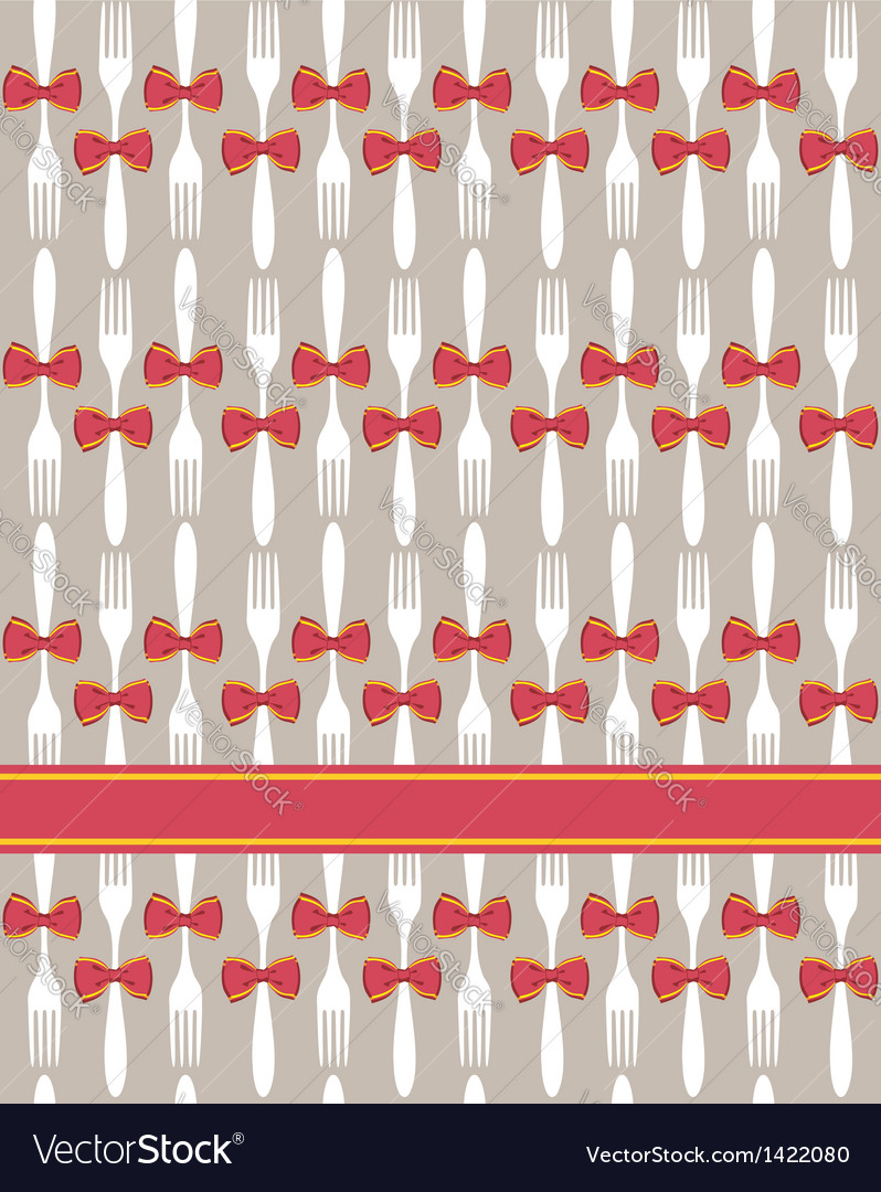 Christmas cutlery seamless pattern background vector   Price: 3 Credit (USD $3)