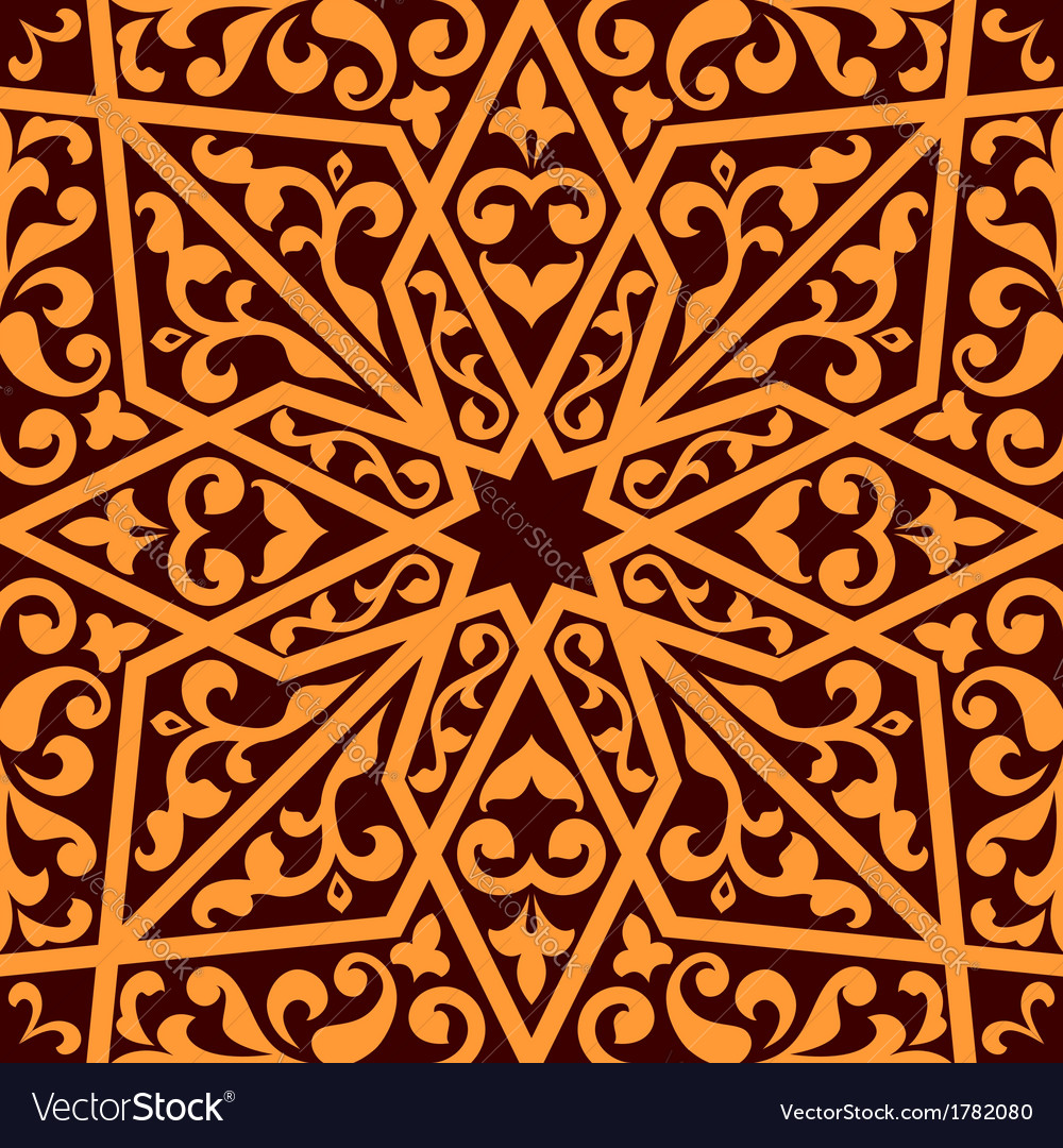 Islamic or arabic seamless pattern vector | Price: 1 Credit (USD $1)