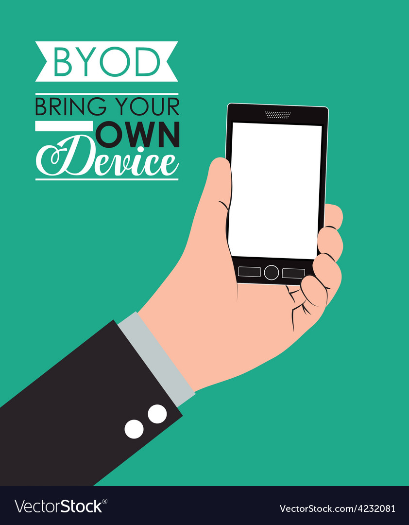 Byod design vector | Price: 1 Credit (USD $1)