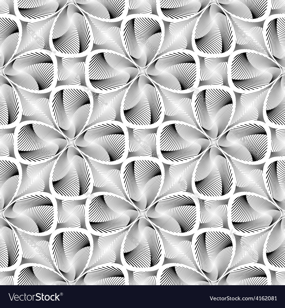 Design seamless decorative flower background vector | Price: 1 Credit (USD $1)