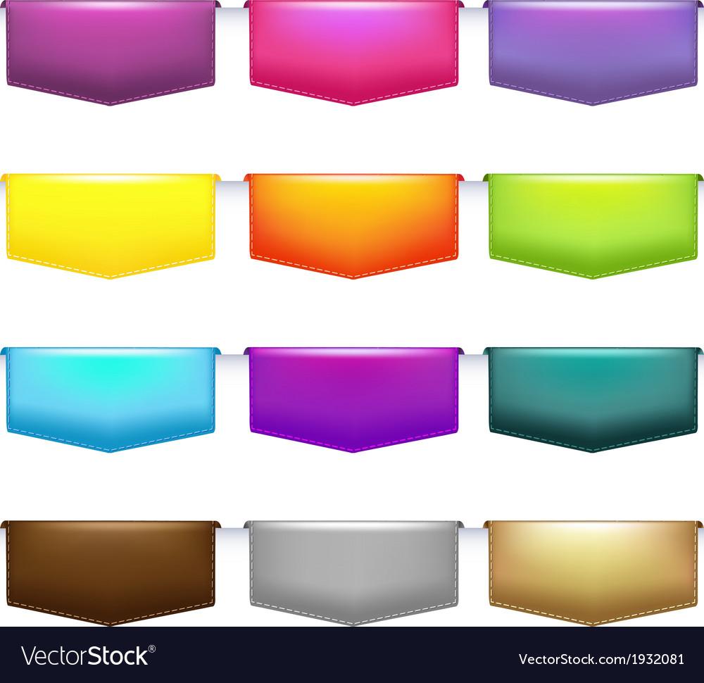 Labels set vector | Price: 1 Credit (USD $1)