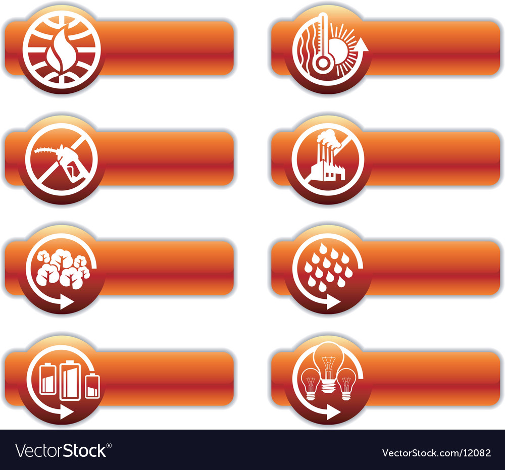 Global warming banners vector | Price: 1 Credit (USD $1)