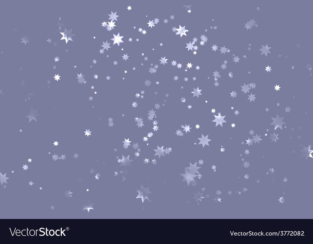 Grey starry sky vector | Price: 1 Credit (USD $1)