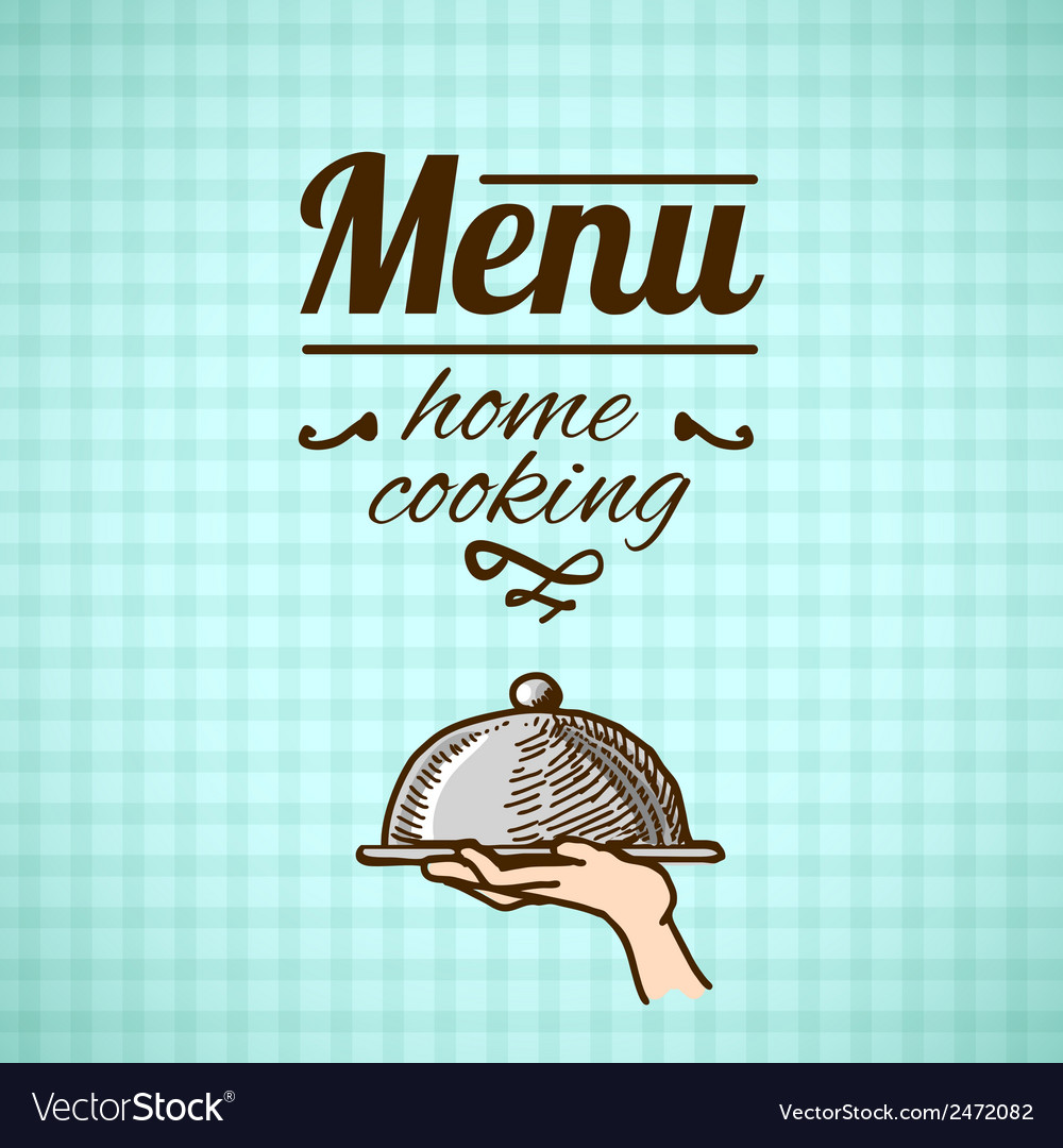 Restaurant menu design sketch vector | Price: 1 Credit (USD $1)
