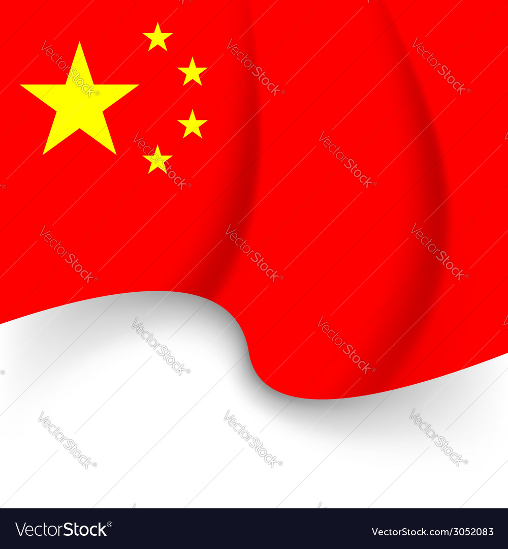 Chinese national flag holiday background vector | Price: 1 Credit (USD $1)