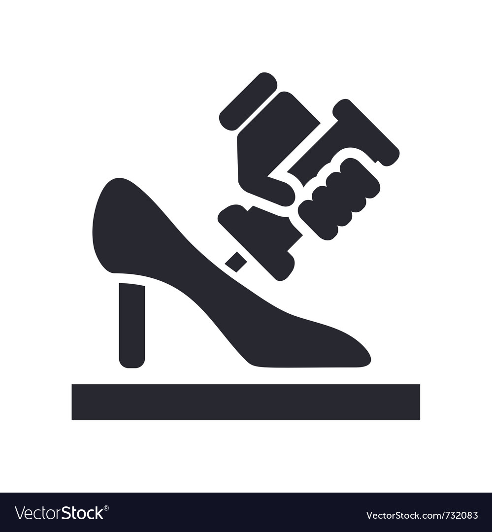 Shoe manufacturing vector | Price: 1 Credit (USD $1)