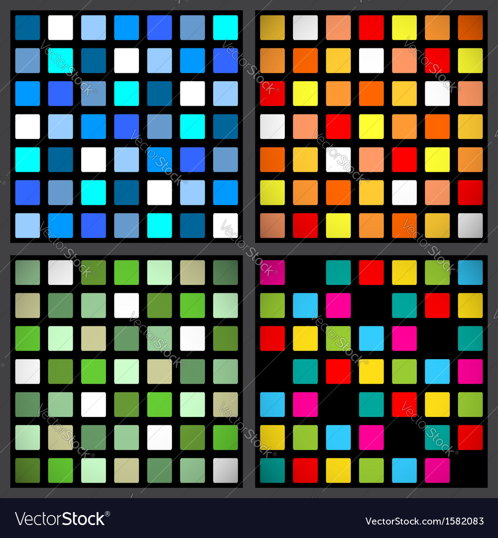 Stained-glass window patterns vector | Price: 1 Credit (USD $1)
