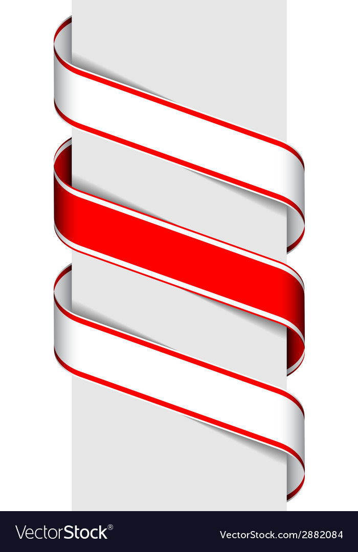 Ribbon sign vector | Price: 1 Credit (USD $1)