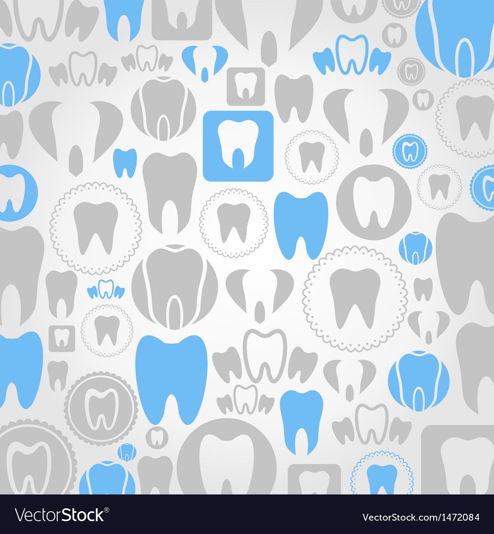 Tooth a background vector | Price: 1 Credit (USD $1)