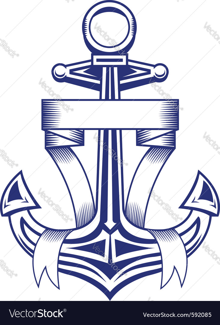 Ancient anchor vector | Price: 1 Credit (USD $1)