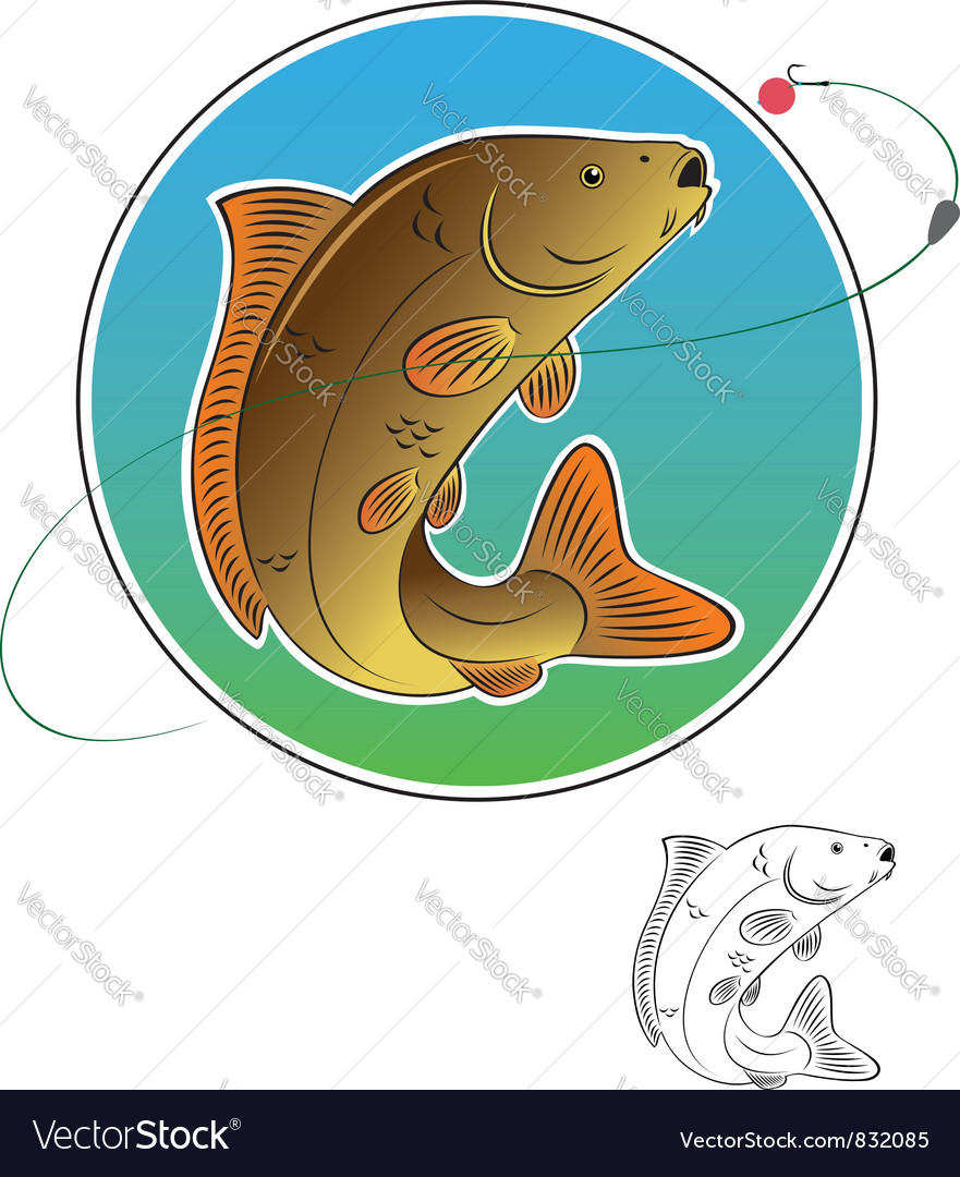 Carp vector | Price: 1 Credit (USD $1)