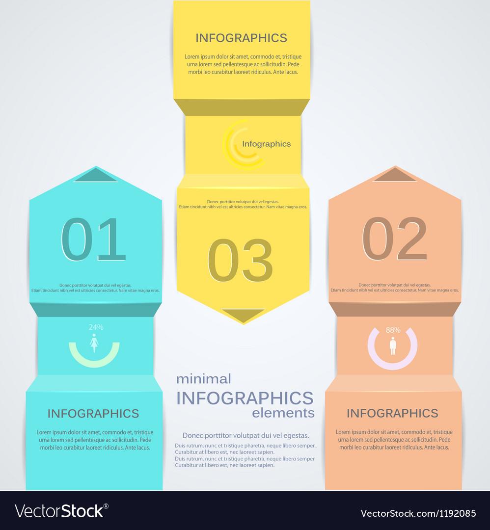 Minimal infographics 2 vector | Price: 1 Credit (USD $1)