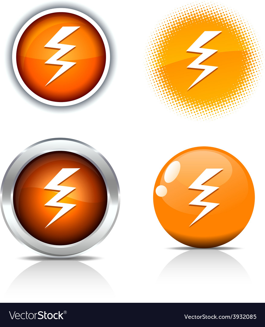 Warning buttons vector | Price: 1 Credit (USD $1)