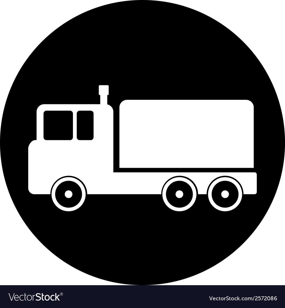 Cargo car button vector   Price: 1 Credit (USD $1)