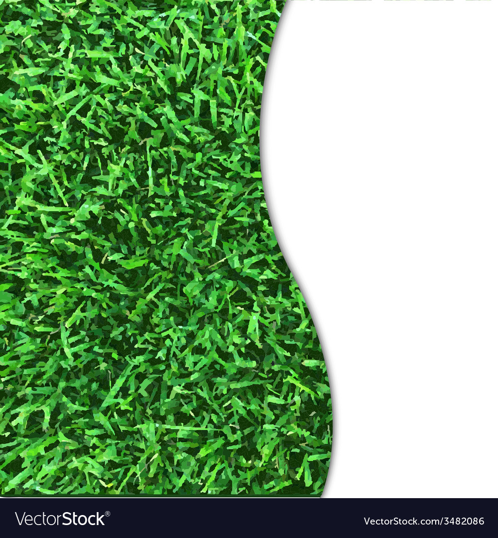 Grass texture poster vector | Price: 1 Credit (USD $1)