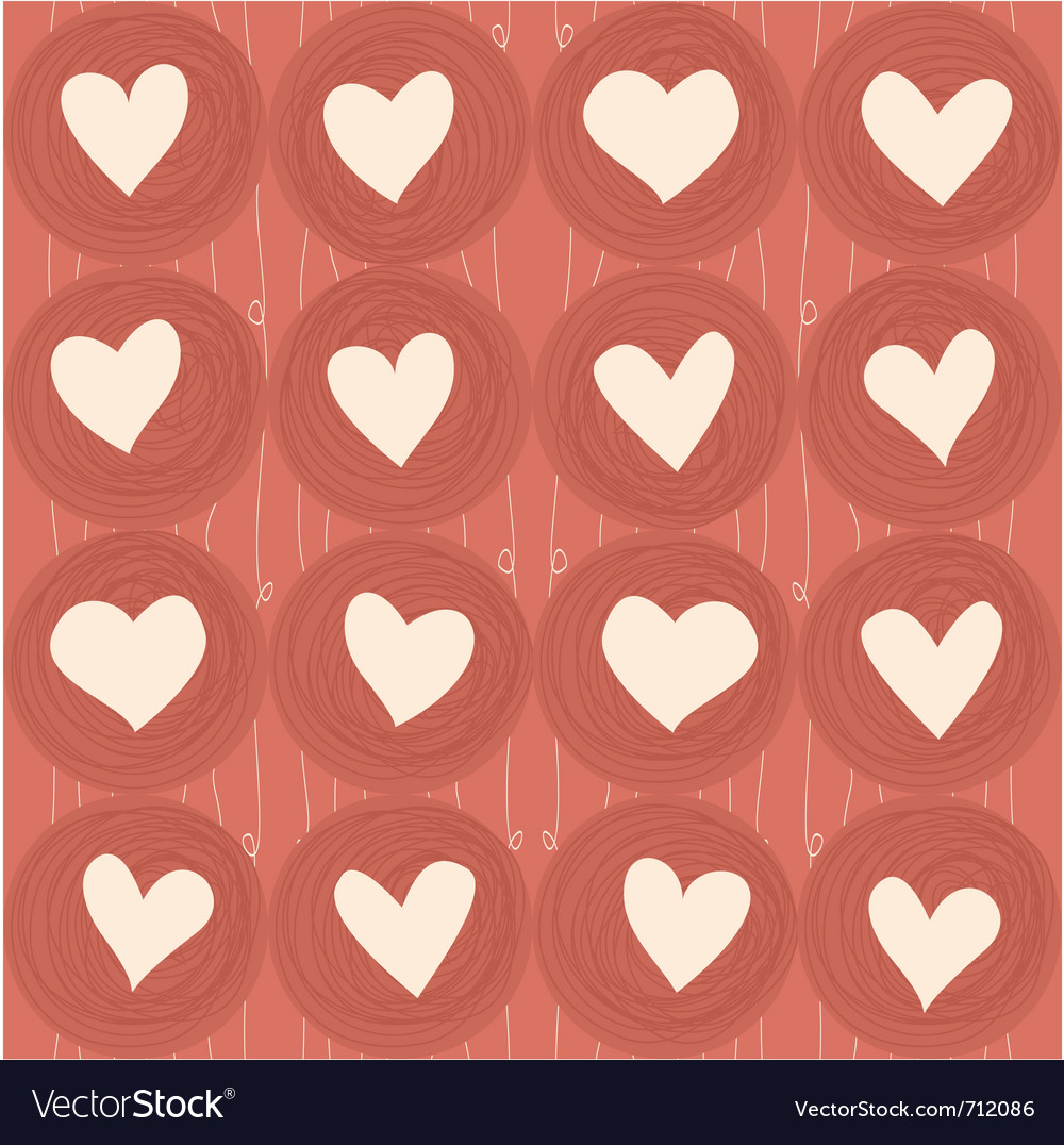 Heart wallpaper vector | Price: 1 Credit (USD $1)