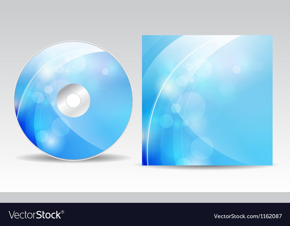 Cd cover design vector | Price: 1 Credit (USD $1)