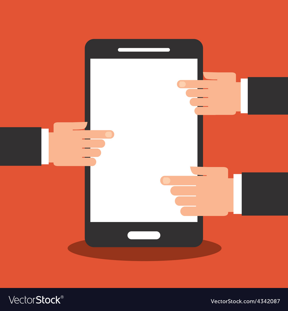 Cell phone vector   Price: 1 Credit (USD $1)